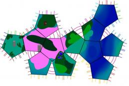 Map of Aquitae Plate